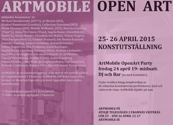 artmobile invite